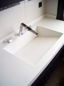 Çekmeköy Nurol Konaklari - Banyo lavabosu tasarim ve uygulama