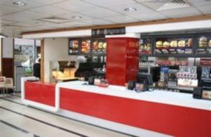 McDonalds, Atasehir - Servis bankosu
